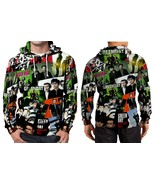 Green Day Photos Tour Hoodie Fullprint Men - $44.99