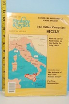 Strategy & Tactics March 1991 The Italian Campaign: Sicily Unpunched 19... - $28.71