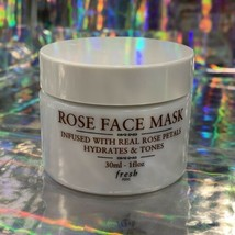 NWOB fresh Rose Face Mask *Hydrates & Tones W Real Rose Petals 1oz(30mL)