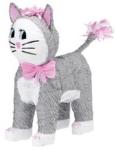 Gray Kitty Cat Pinata - $13.69
