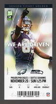 2016 SEAHAWKS vs EAGLES Full Season Ticket Stub 11/20 DOUG BALDWIN 1st T... - $2.49