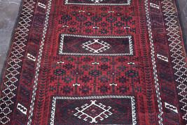 unique hand knotted Afghan turkoman teke rug 100% wool tribal rug /orien... - $359.10