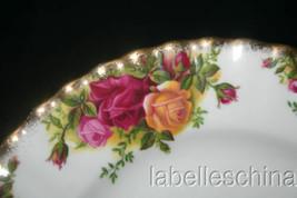 "Old Country Roses 8.25"" Salad Plate Brushed Gold Gilt Trim Royal Albert,... - $36.58"