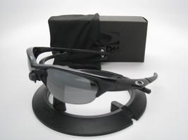 New Oakley Half Jacke Jet Black w/Black Iridium Polarized 12-800 - $245.00