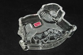 Celebrations by MIKASA Rocking Horse Candy Dish in Original Box * Clear ... - $4.43