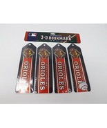 MLB Baltimore Orioles Set of 4 Ultradepth 3D Bookmarks - New - $7.59