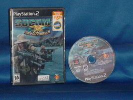 SOCOM II: U.S. Navy SEALs (Sony PlayStation 2, 2003) - $3.99