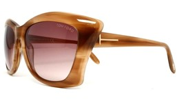 New Tom Ford Tf 280 47F Lana Brown Authentic Gradient Sunglasses 59-16 W/CASE - $106.65