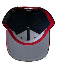 Kr3w krew Skateboarding Navy Blue Red Mark Starter Snapback Baseball Hat Cap NWT image 6