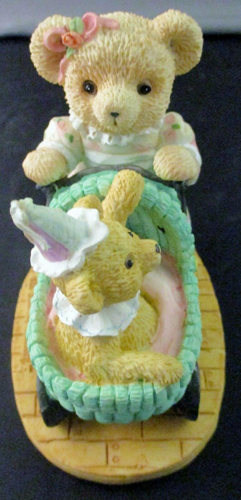 "The Bialosky Treasury ""Rosepetal and Marcel"" Figurine 1995 image 4"