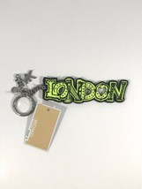 Nwt Michael Kors London KEYFOB/CHARM Neon Green - $13.99