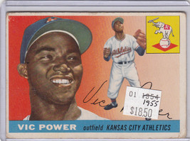 1955 Topps 30 Vic Powers Not Graded - $14.70