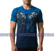 Affliction Farewell A20047 New Short Sleeve Fashion Graphic T-shirt Top ... - $51.95