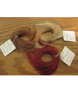 New in Package Medium Faux Hair Ponytail Holder 3 colors avail multi qty... - $3.17