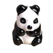 Set of 2 Cute Panda Ceramic Kids Room Decors Drawer Handles/Pulls(1.71.31.2'')