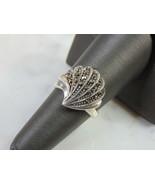 Womens Vintage Estate Sterling Silver Modernist Ring 4.9g E5158 - $24.75