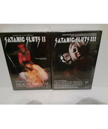 SATANIC SLUTS II: THE BLACK MASSES & SATANIC SLUTS III: SCANDALIZED DVDS... - $56.10