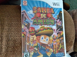 Nintendo Wii Samba De Amigo ~ COMPLETE image 1