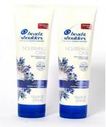 2 Head & Shoulders 10.6 Oz Nourishing Care Lavender Hair & Scalp Conditi... - $16.99