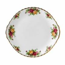 ENGLAND ROYAL ALBERT OLD COUNTRY ROSES CAKE PLATE  - $79.19