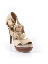 Michael Michael Kors Heels...Beige... Sz: 7.5..... - $49.50