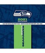 TURNER Sports Seattle Seahawks 2021 Box Calendar (21998051454) - $14.85