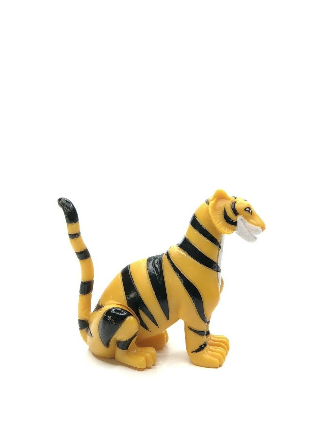 Tiger Figure Cake Topper / Toy Aladdin Rajah Jasmine's Disney Setting Tail Up