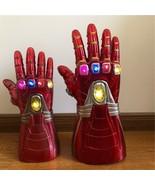 Avengers The Endgame Led IRONMAN Gauntlet Stones Glove Halloween Gift Co... - $30.43+