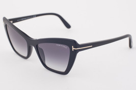 Tom Ford Valesca Black / Gray Gradient Sunglasses TF555 01B - $175.42