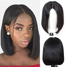 Short Bob Wigs Brazilian Virgin Hair Straight Bob Wigs Lace Front Human Hair Wig