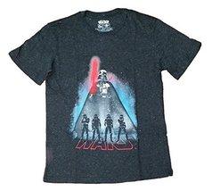 Star Wars Darth Vader Stormtroopers Licensed Graphic T-Shirt - Medium - $22.76