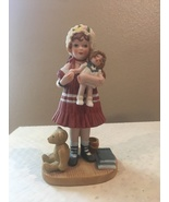 """Jan Hagara """"Lydia and the Shirley Temple Doll"""" Limited Edition 1983-84 F... - $30.00"""