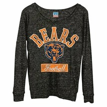 Junk Food NFL Football Chicago Bears Women's Vintage Field Goal Long Sleeve Tee