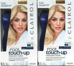 2 Clairol Root Touch Up 11A Matches Ultra Light Ash Blonde Shades Perman... - $20.99