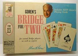 Goren's Bridge For Two Milton Bradley 1964 Vintage Card Game Pre-Owned - $14.85