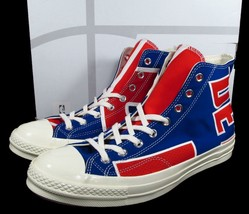 Converse Detroit Pistons Gameday Jersey Sneaker Chuck Taylor 70 120/250 ... - $150.00