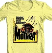 Mothra T-shirt retro sci fi monster movie Godzilla 100% cotton graphic tee image 2