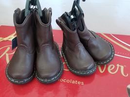 Garanimals Infant/Toddler Boys' Dark Brown Pull-on Pre-walk Boots/Shoes ... - £9.73 GBP