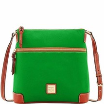 Dooney & Bourke Pebble Leather Crossbody Kelly Green