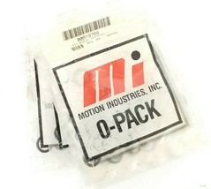 LOT OF 200 NEW MOTION INDUSTRIES 00619759 011 BUNA O-PACK O-RINGS