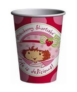 Strawberry Shortcake Best Friends 9 oz Paper Cup 8 Count Birthday Party ... - $4.90