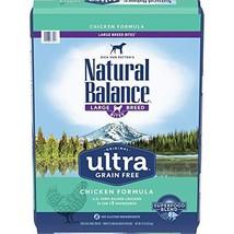 Natural Balance Original Ultra Grain Free Large Breed Bites Dog Food, Chicken Fo - $82.03