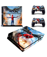 Spider Man Marvel Hero Vinyl Skin Decal Sticker for PS4 PlayStation 2 Co... - $12.50