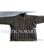 NauticalMart Medieval thick padded Black Color Gambeson Doublet Arming J... - $169.00