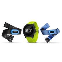 Garmin Forerunner 935 GPS Triathlon Multisport Outdoor Wrist HR Watch Tri-Bundle - $659.90