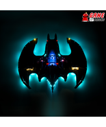 LED Light Kit for 1989 Batwing - Compatible with Lego 76161 Set - $29.99+