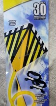 "X-Kites StuntDiamond 30"" Yellow Dual Control Kite - New! - $11.79"