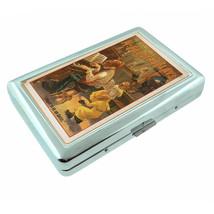 Vintage Poster D105 Silver Cigarette Case Holder McFaddens Flats To Be a... - $9.85