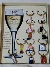 Boston Warehouse Wine Markers Wedding Memories Themed Bridal Cake Rings - $17.82