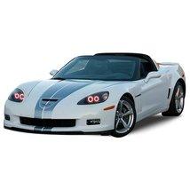 FLASHTECH for Chevrolet Corvette 05-13 Red Single Color LED Halo Ring He... - $185.22
